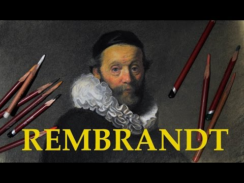 REMBRANDT FOR BEGINNERS & ADVANCED. HOW TO DRAW LIKE THE OLD MASTERS.