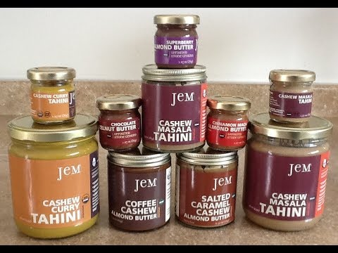 Jem™ Organics - Part 2: Sprouted & Stoneground Organic Nut Butters