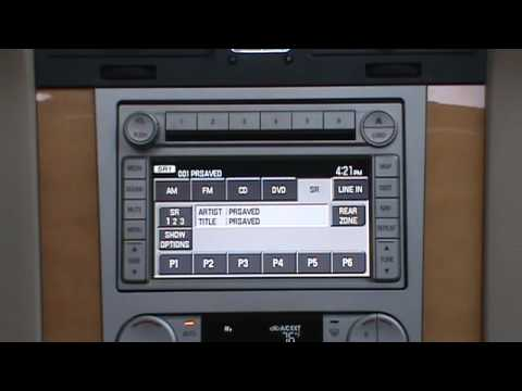 hd radio operation    lincoln navigator youtube