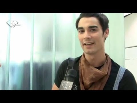 Angel Lopez's interview with Fashion Tv