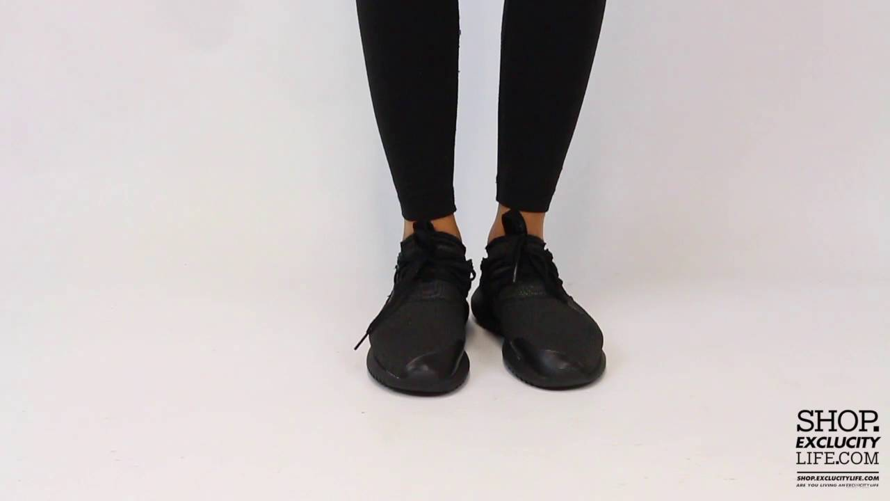 Women's Adidas Tubular Entrap On feet Video