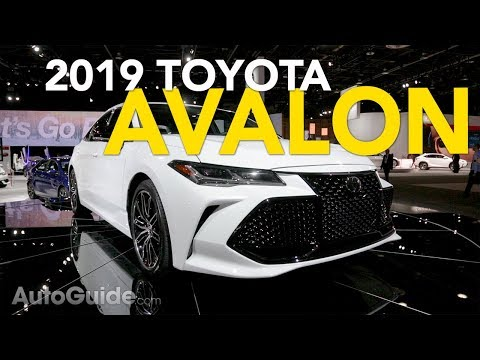 2019 Toyota Avalon Debuts: 5 Things You Need to Know - 2018 Detroit Auto Show