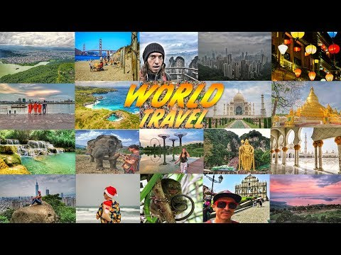 World Travel Montage 2018 (16 countries!)
