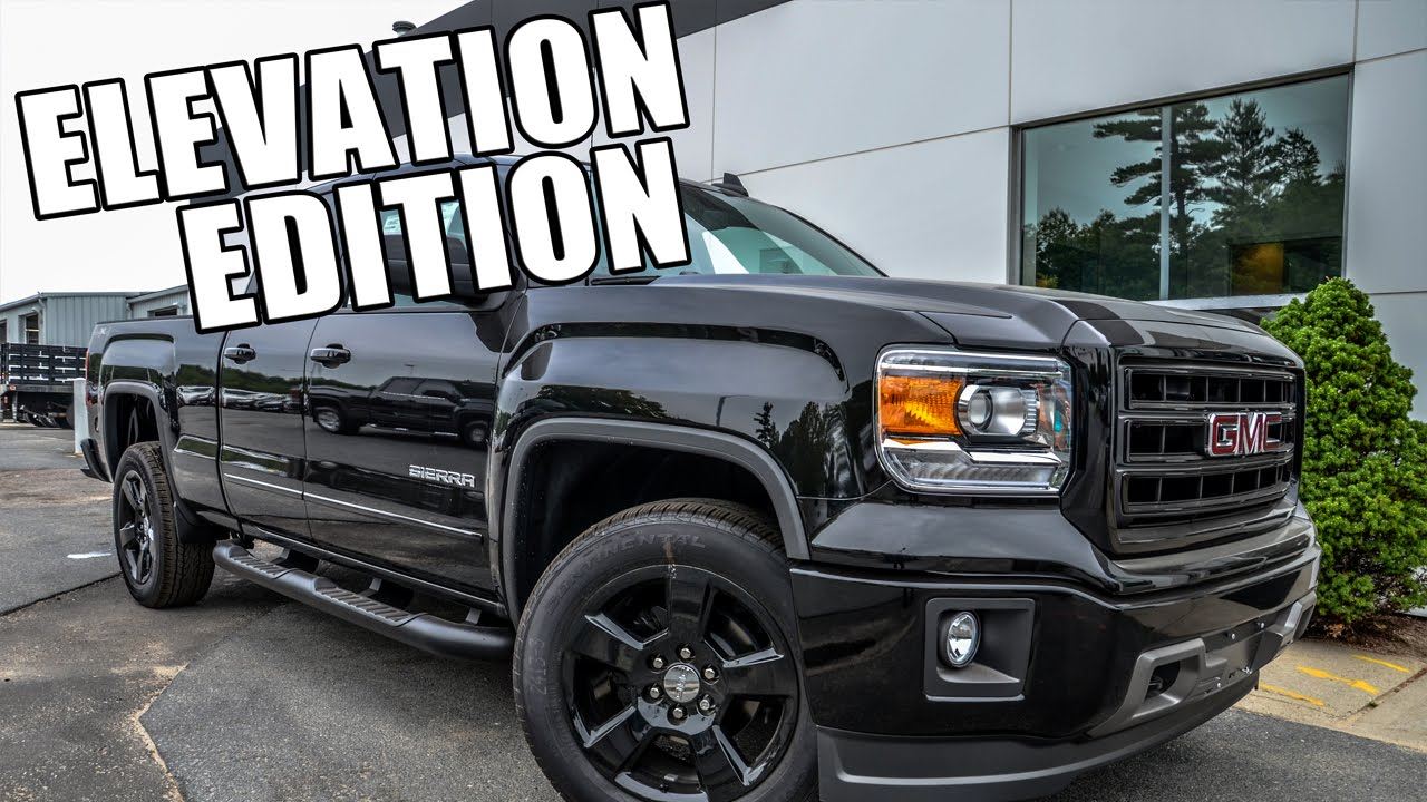 2015 GMC Sierra Elevation Edition - Quick Look! - YouTube