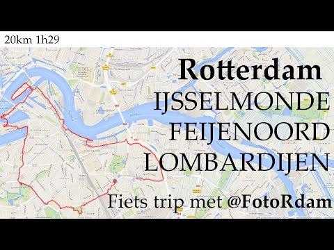 Fiets trip in Rotterdam
