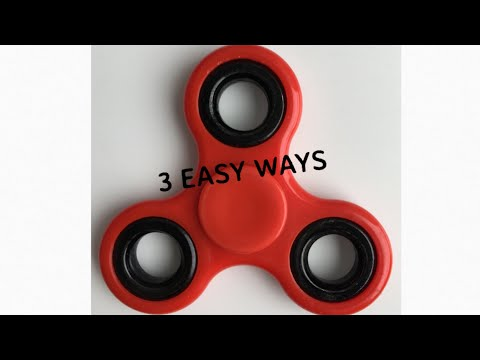 3 easy ways to make fidget spinner