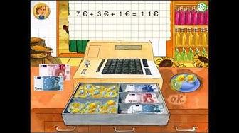 [LERNSPASS] Mathe - 1. Klasse - Verkaufe im Laden - Rechnen mit Geldbeträgen - Terzio