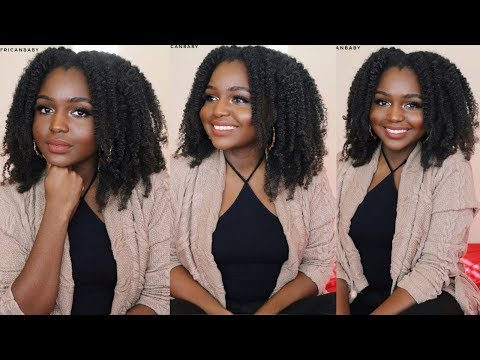 4C HAIR BRAIDOUT WITH CREAMY HAIRBUTTER  Curlbox