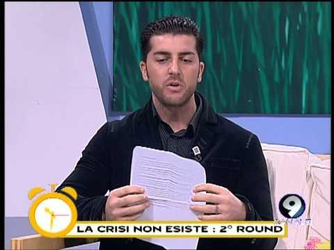 Amodeo replica a Le Iene: 'La crisi c'è' - Studio Mattina 21/01/13