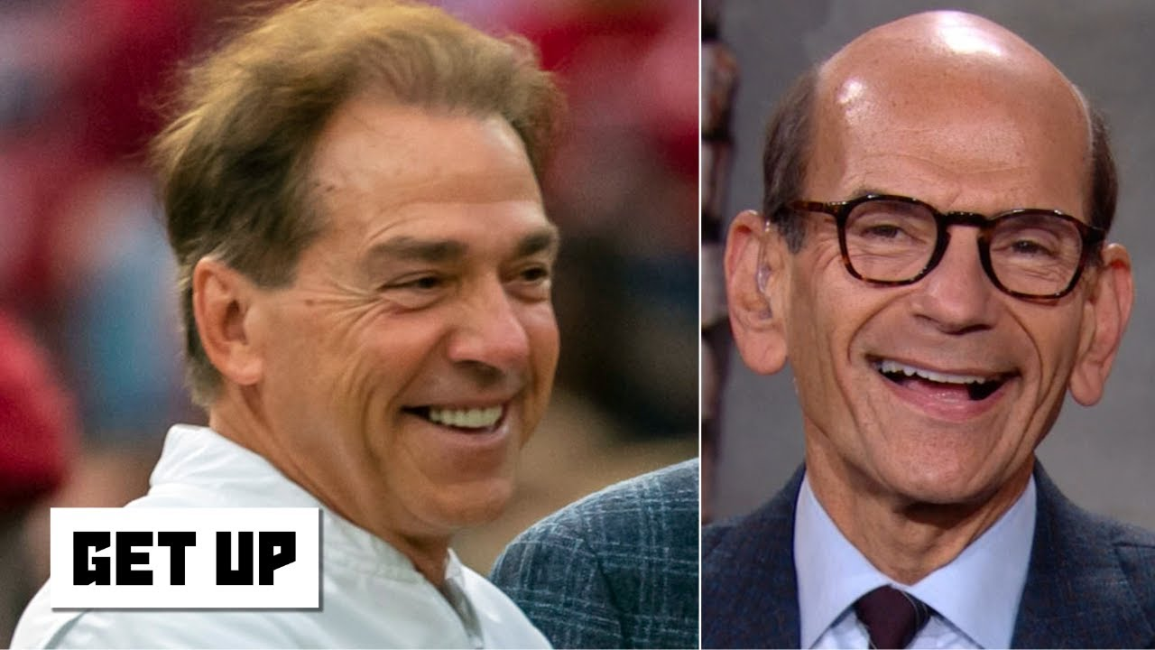 Paul Finebaum blames Stephen A. for Alabama's 'freefall' | Get Up