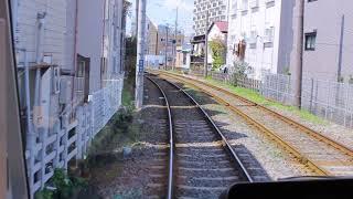 東急世田谷線  西太子堂駅~若林駅