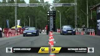 Audi R8 vs BMW M5 F10 30.05 2015 Unlim 500+