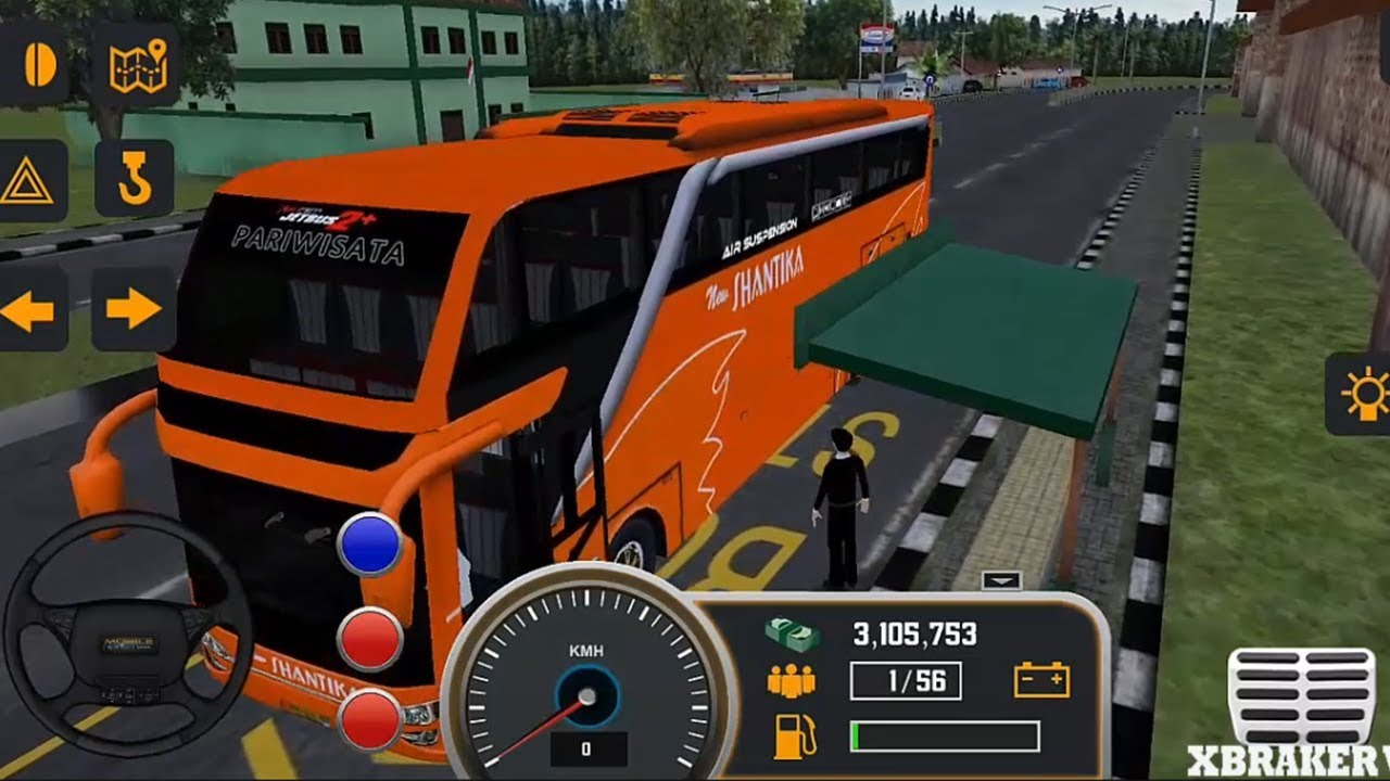 Mobile Bus Simulator 2018 - Orange Skin Bus Transporter #XBR - Android Game Play Full HD