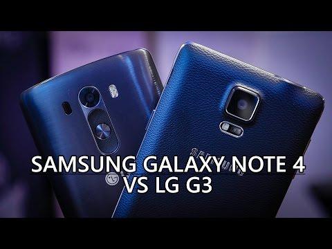 Samsung Galaxy Note 4 vs LG G3 - Quick Look