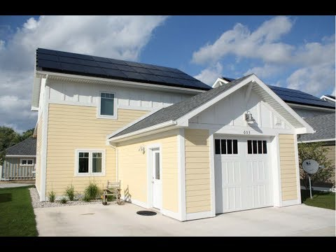 Virtual tour of the Habitat for Humanity LEED Platinum Zero Energy Depot Neighborhood
