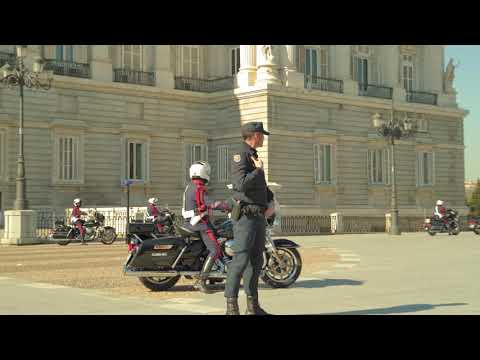 King of Spain Leaves Palace