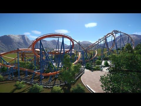 Planet Coaster - Hawk (B&M Invert) POV