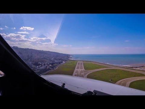 Airbus Pilotsviews out of Beirut