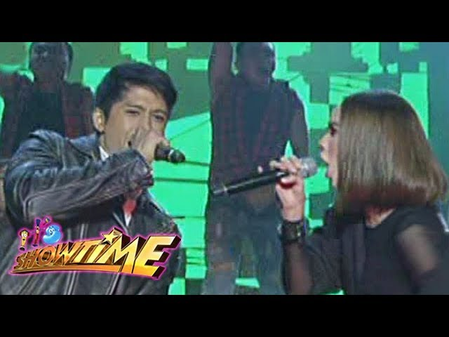 It's Showtime: Aljur and Arci rock the stage together