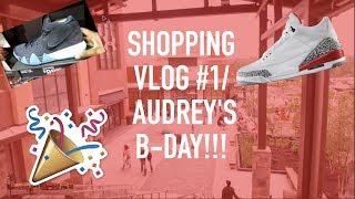 JORDAN 3s FOR $54!!!|Shopping vlog- Vlog #1