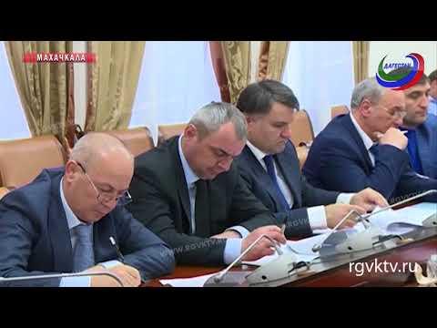 На совещании у премьера РД обсудили актуальные проблемы столицы Дагестана