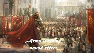 Moving army sound effect