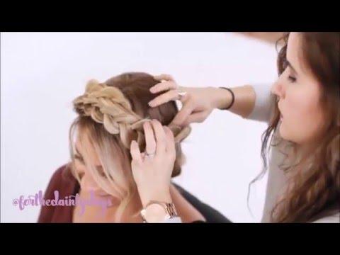 Short, fine hair tutorial: Easy Crown Braid / Plait | Doovi