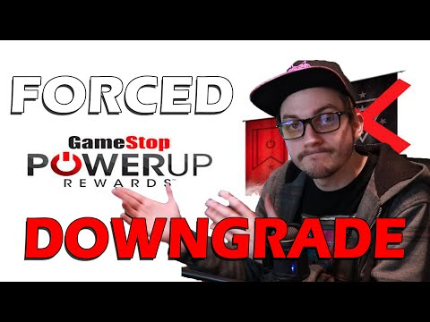 GameStop PowerUp Rewards Card Downgrade HAPPENING NOW