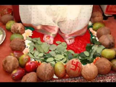 The Divine Lotus Feet Of The Devi