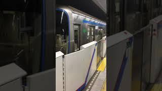 都営三田線6300形 神保町発車 ホームドア交換前