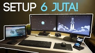 SETUP Multi-Device, Multi-Monitor Wireless Budget 6 JUTA!