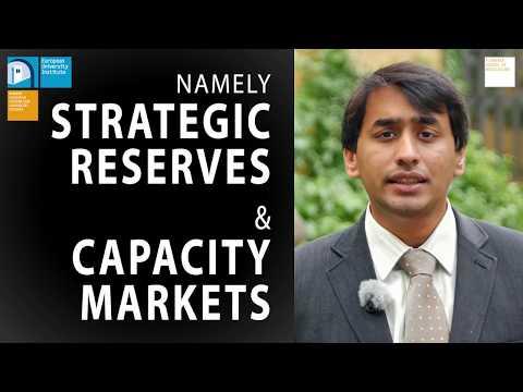 Capacity Mechanisms in Interconnected Markets | Pradyumna Bhagwat