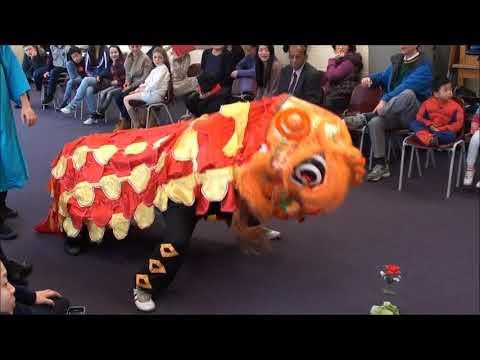 Lion Dance New Malden - Korean Evangelical Church 14022016