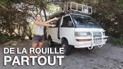 #83 Attaqué par la ROUILLE, on doit REPEINDRE notre VAN - 4e semaine de confinement au Mozambique