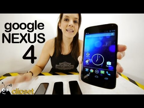 Nexus 4 Google review análisis en vídeo