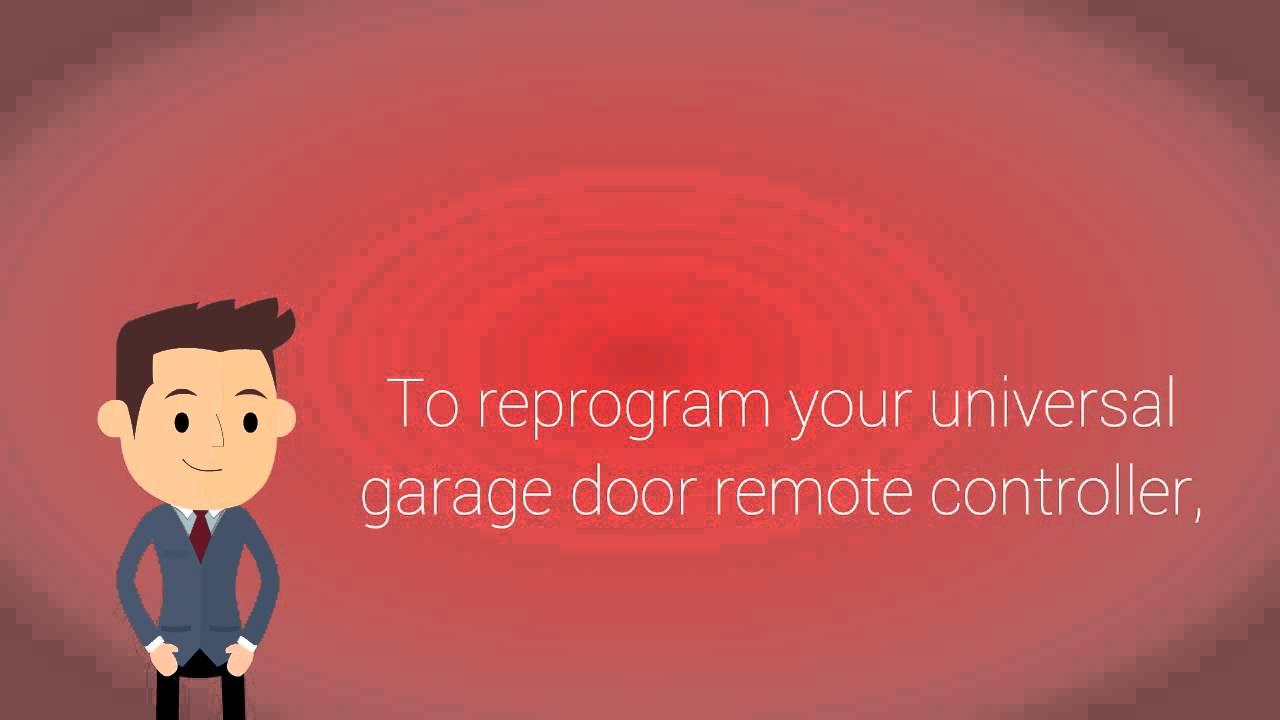 How Can You Reprogram A Universal Garage Door Remote Controller
