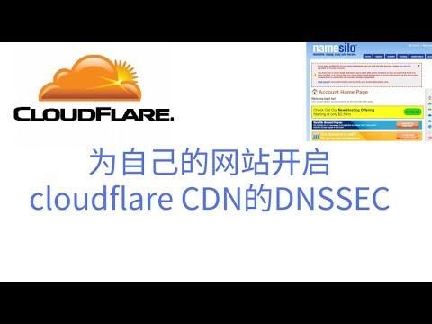 4K画质,为自己的网站开启cloudflare CDN的DNSSEC ,为namesilo域名开启DNSSEC,提高网站被DNS污染的安全性