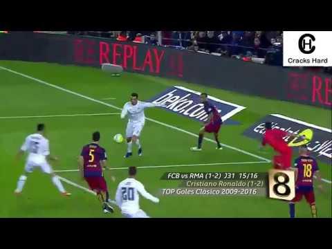 TOP 10 Mejores goles del Superclasico español