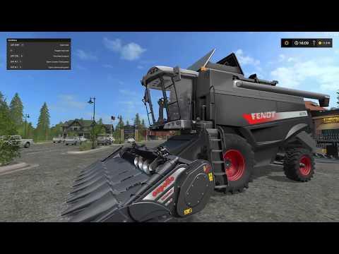 Farming Simulator 17 Mods [FBM Team] Fendt Harvester Pack