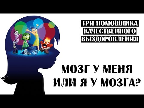 Я у мозга или мозг у меня.  Три помощника качественного выздоровления