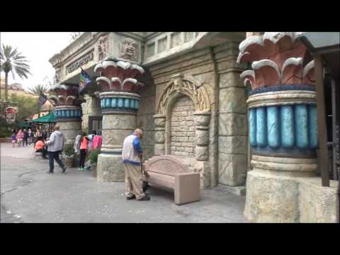 4K The Lost Continent FULL WALKTHROUGH TOUR Universal Studios Florida 2017 Attraction Tube HD