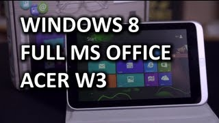 Acer Iconia W3 Windows 8 Tablet Unboxing & Overview