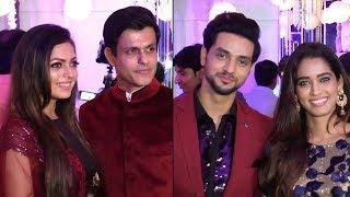 Drashti Dhami, Shakti Arora & Aditi Sharma at Rubina Dilaik & Abhinav Shukla Reception | Silsila thumbnail