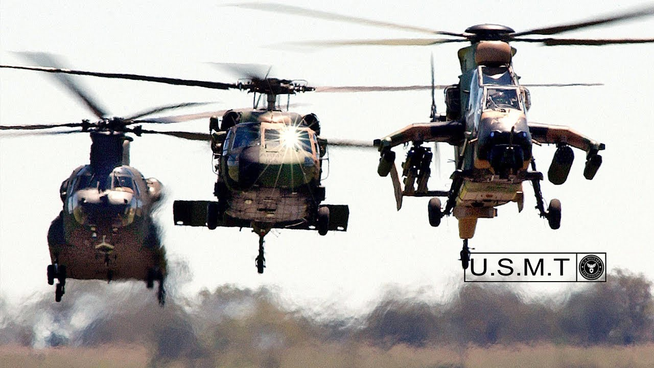 US Military • Waterborne Operations from a Black Hawk Helicopter