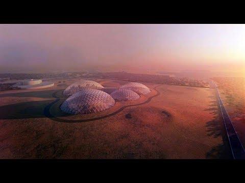 The UAE is building a £100 million 'Martian city'