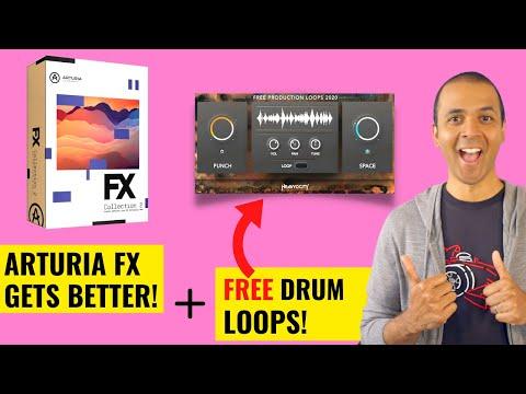 ? Arturia's FX, FREE Heavyocity Drums,  Splice DAW Sync and more