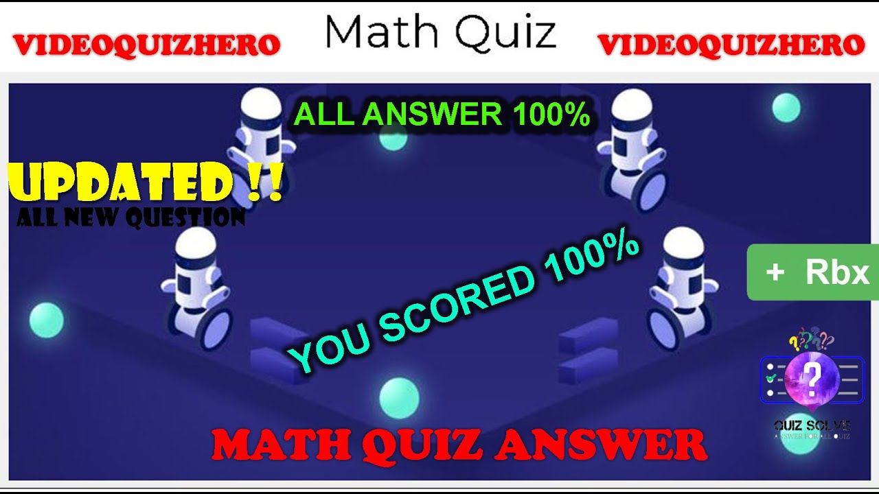 All Answers To The Ultimate Roblox Quiz