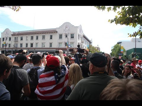 Citizen reporting takes over Berkeley protest