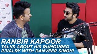 Zapętlaj Ranbir Kapoor talks about his rumoured rivalry with Ranveer Singh! | Siddharth Kannan