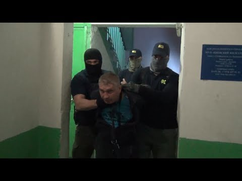 Опубликованы кадры задержания и приговора офицера-шпиона Долгополова